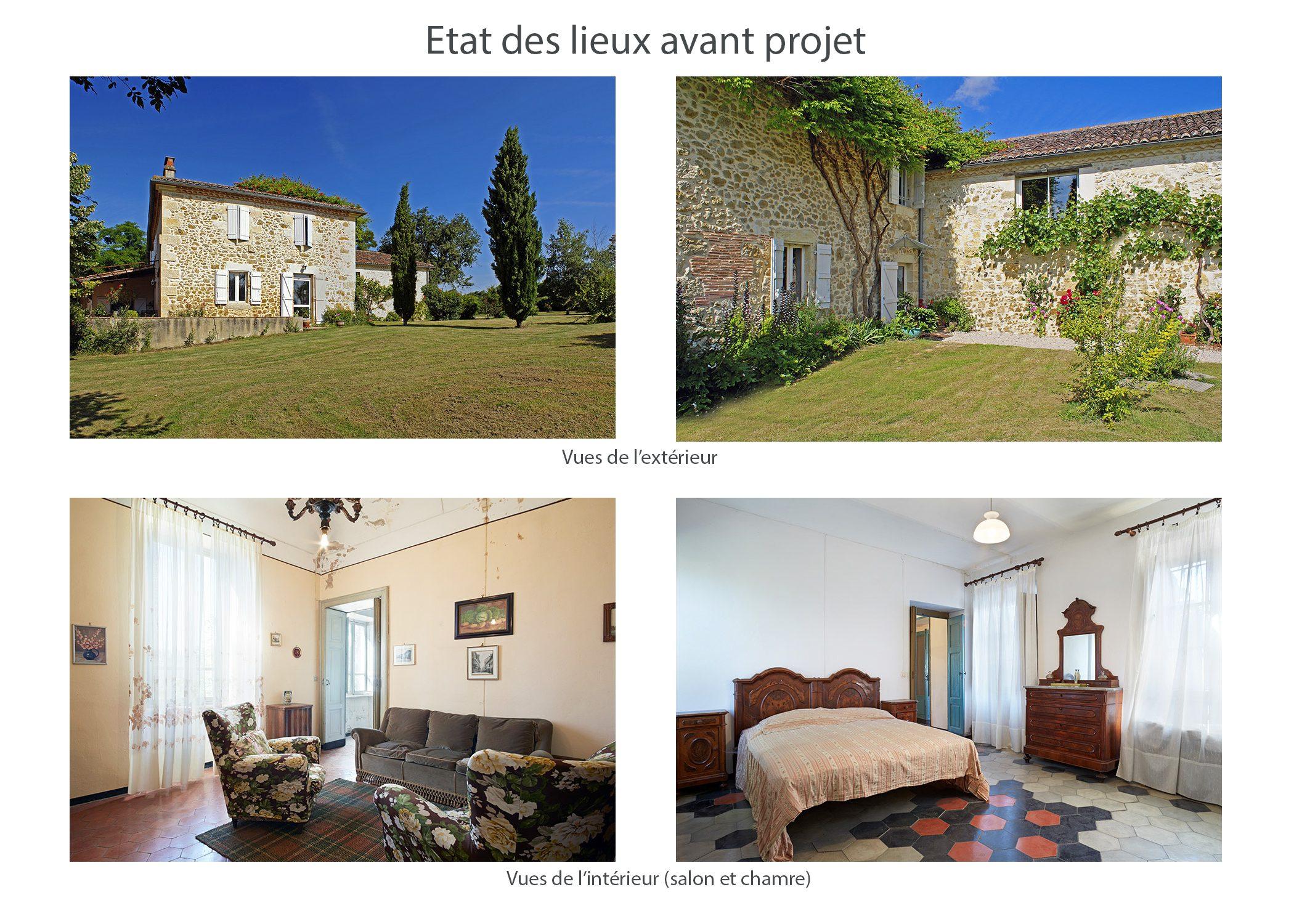amenagement-decoration-maison de famille-campagne-provence-etat des lieux avant projet-dekho design