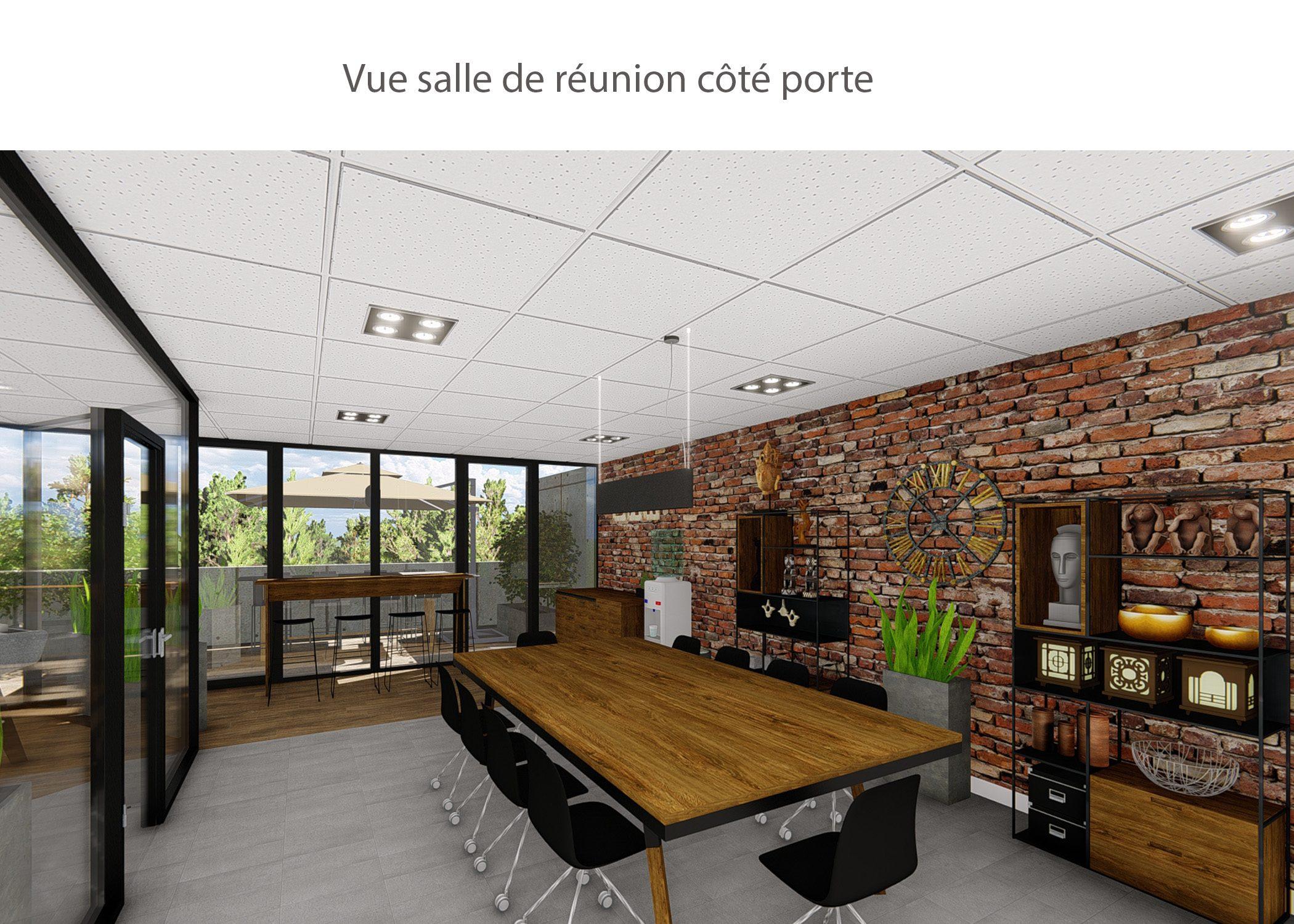 amenagement-decoration-start-up vente en ligne-region parisienne-salle de reunion cote porte-dekho design