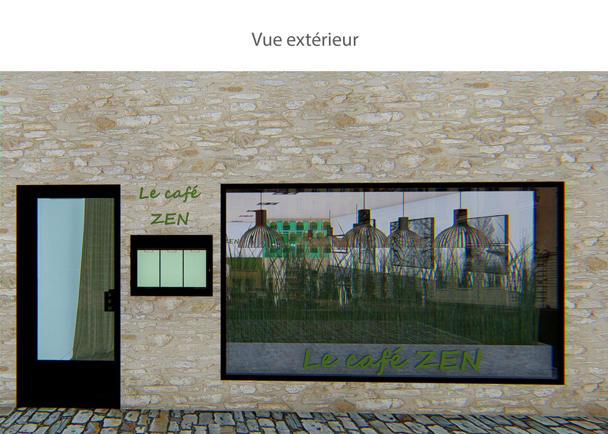 amenagement-decoration-restaurant-lyon-vue extérieure-dekho design