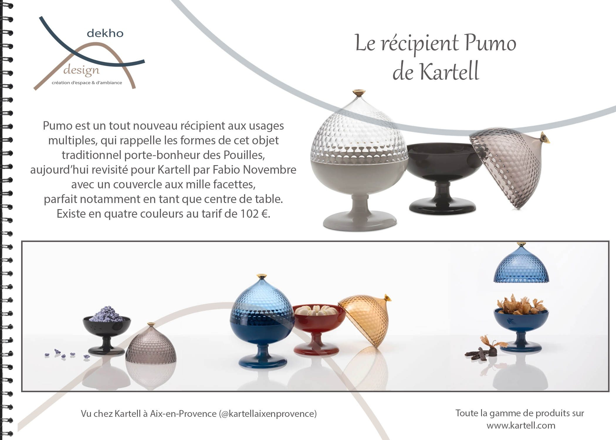 carnet d'intérieur-idées cadeaux-sélection kartell-conseils-dekho design