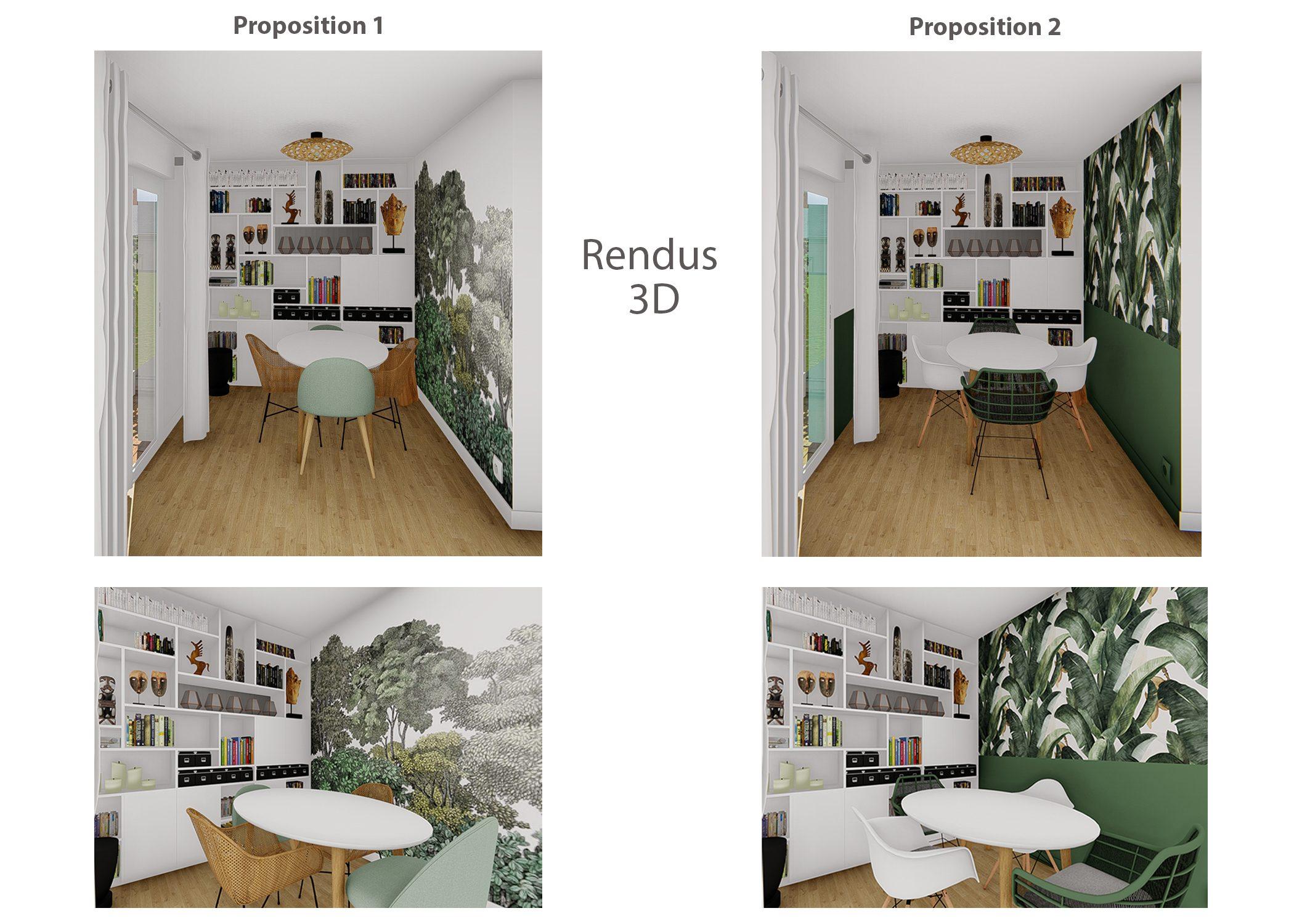 decoration-salle à manger-rendus 3d-paris-dekho design