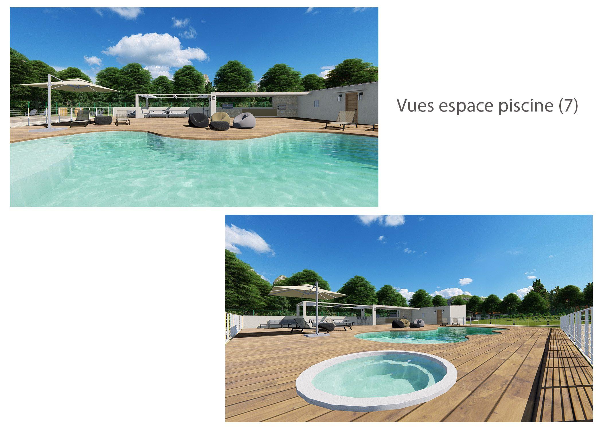agencement terrain fuveau-espace exterieur-vues espace piscine 1-dekho design