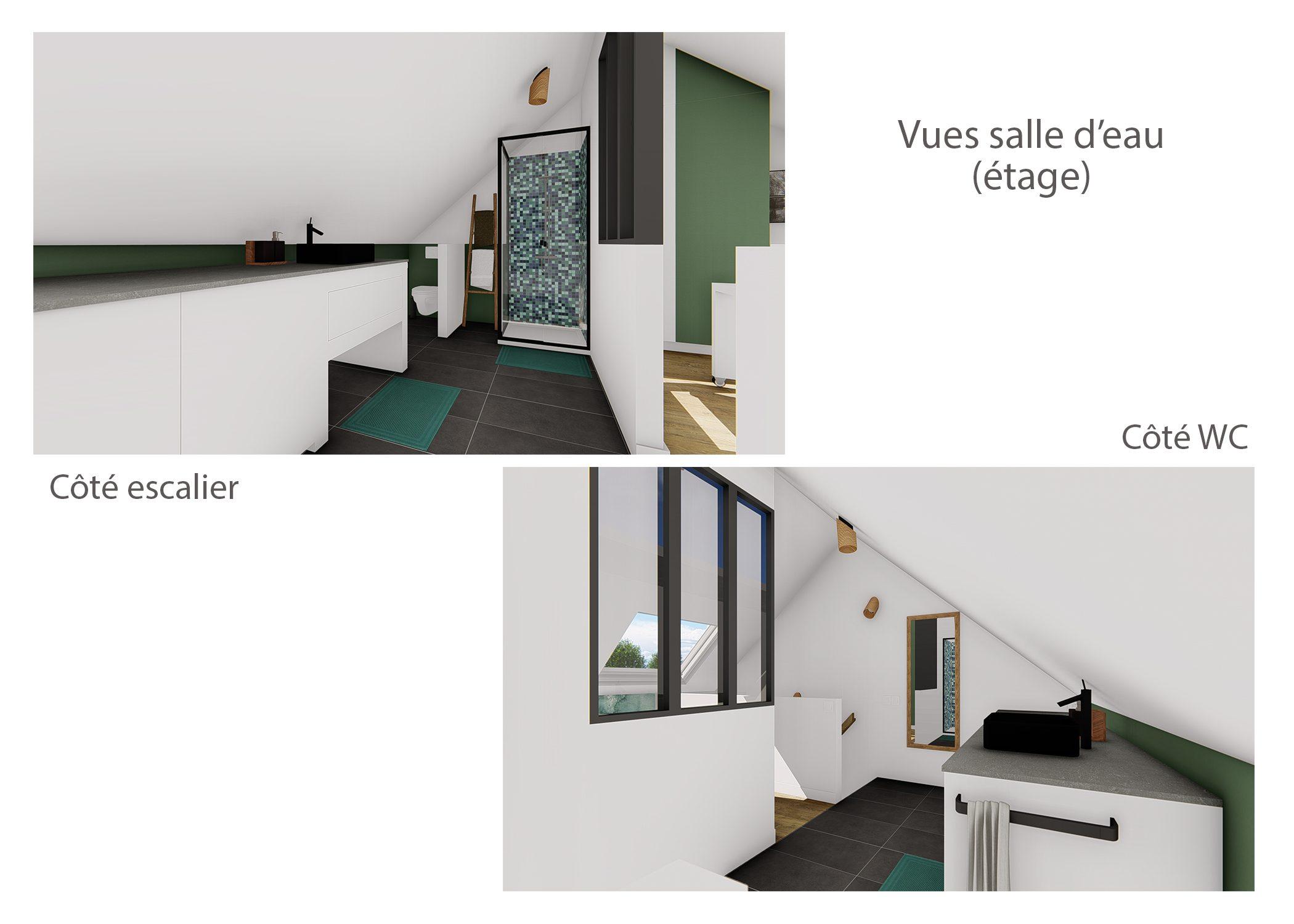 agencement petit espace-vues salle d'eau-region lyonnaise-dekho design