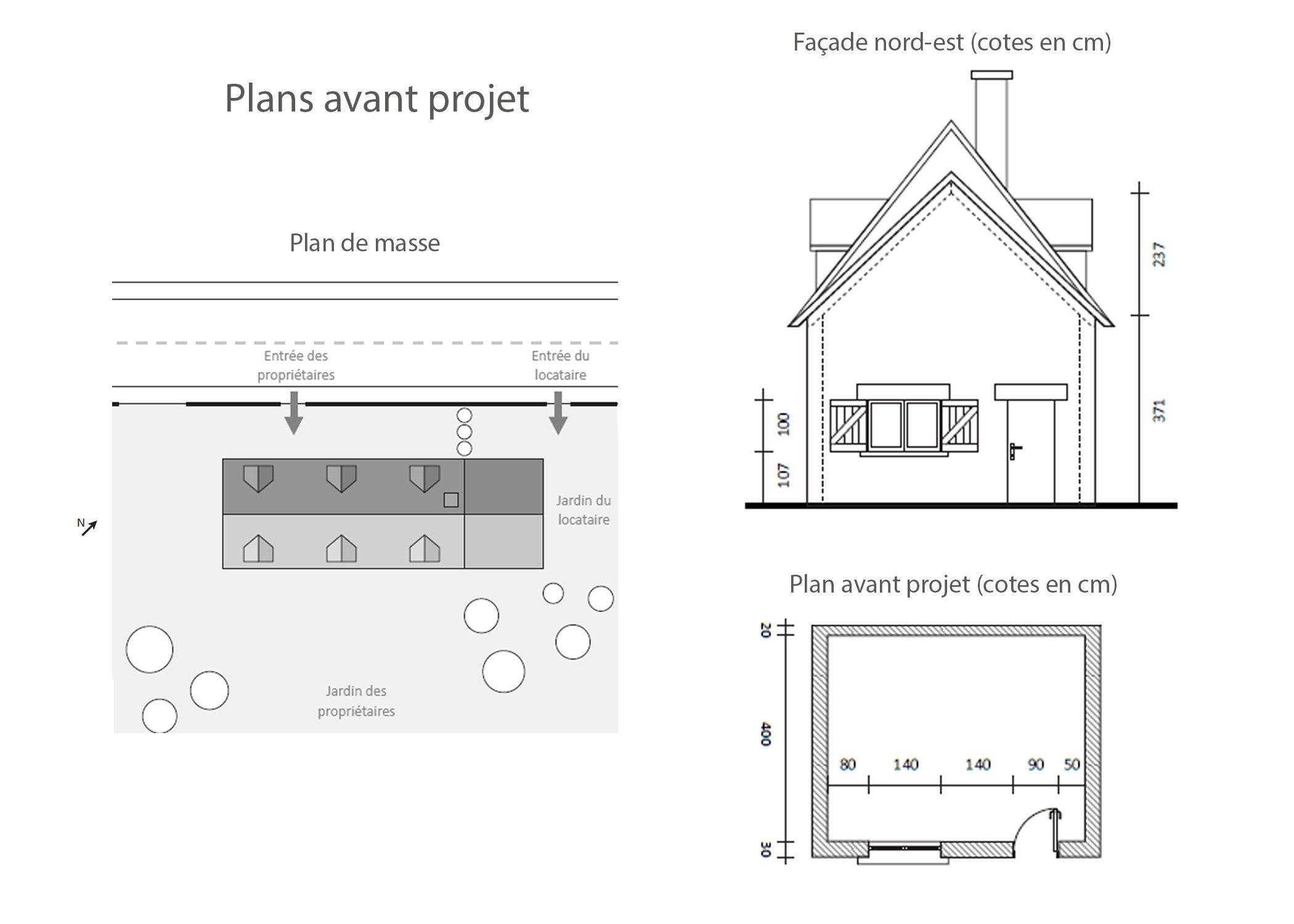 agencement petit espace-plans avant projet-region lyonnaise-dekho design