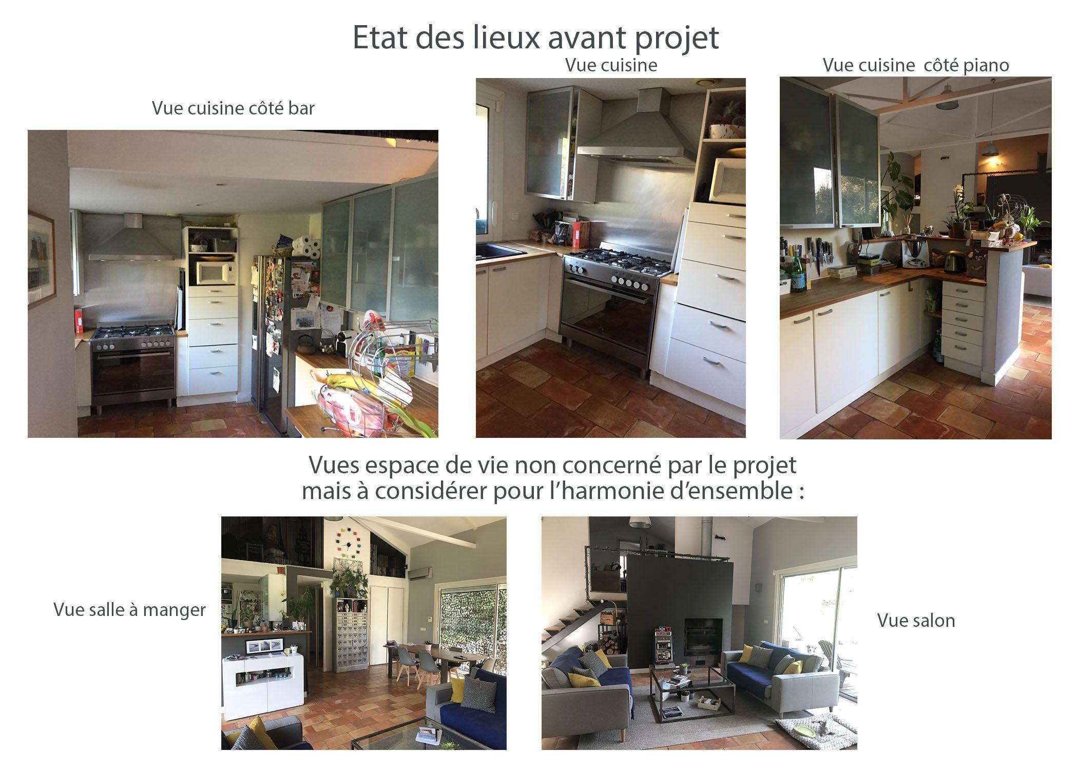 amenagement-decoration-cuisine fuveau-etat existant avant projet-dekho design