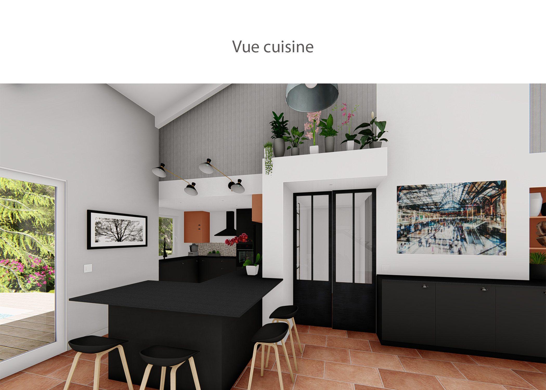 amenagement-decoration-cuisine fuveau-vue cuisine-dekho design