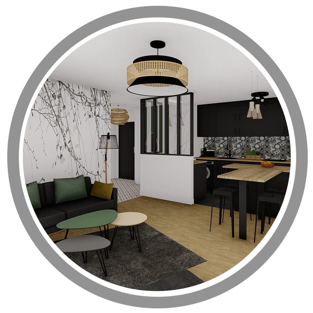temoignage client-realisation appartement region parisienne-dekho design