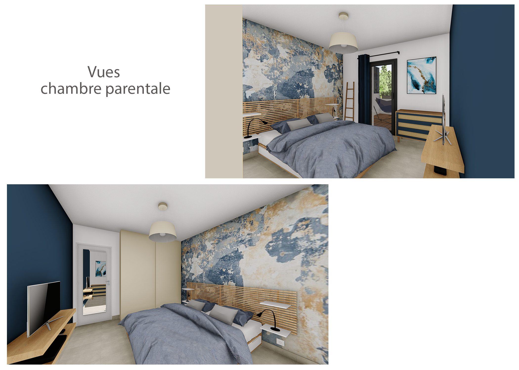 decoration-terrasse et chambre-vues chambre-aix-en-provence-dekho design