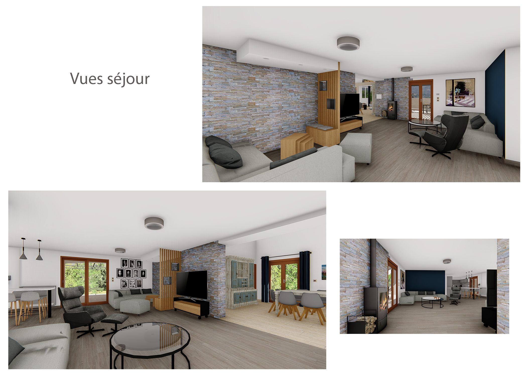 amenagement-decoration-espace de vie et terrasse fuveau-vues sejour-dekho design