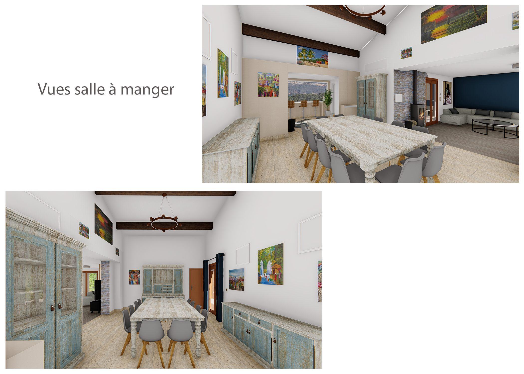 amenagement-decoration-espace de vie et terrasse fuveau-vues salle a manger-dekho design