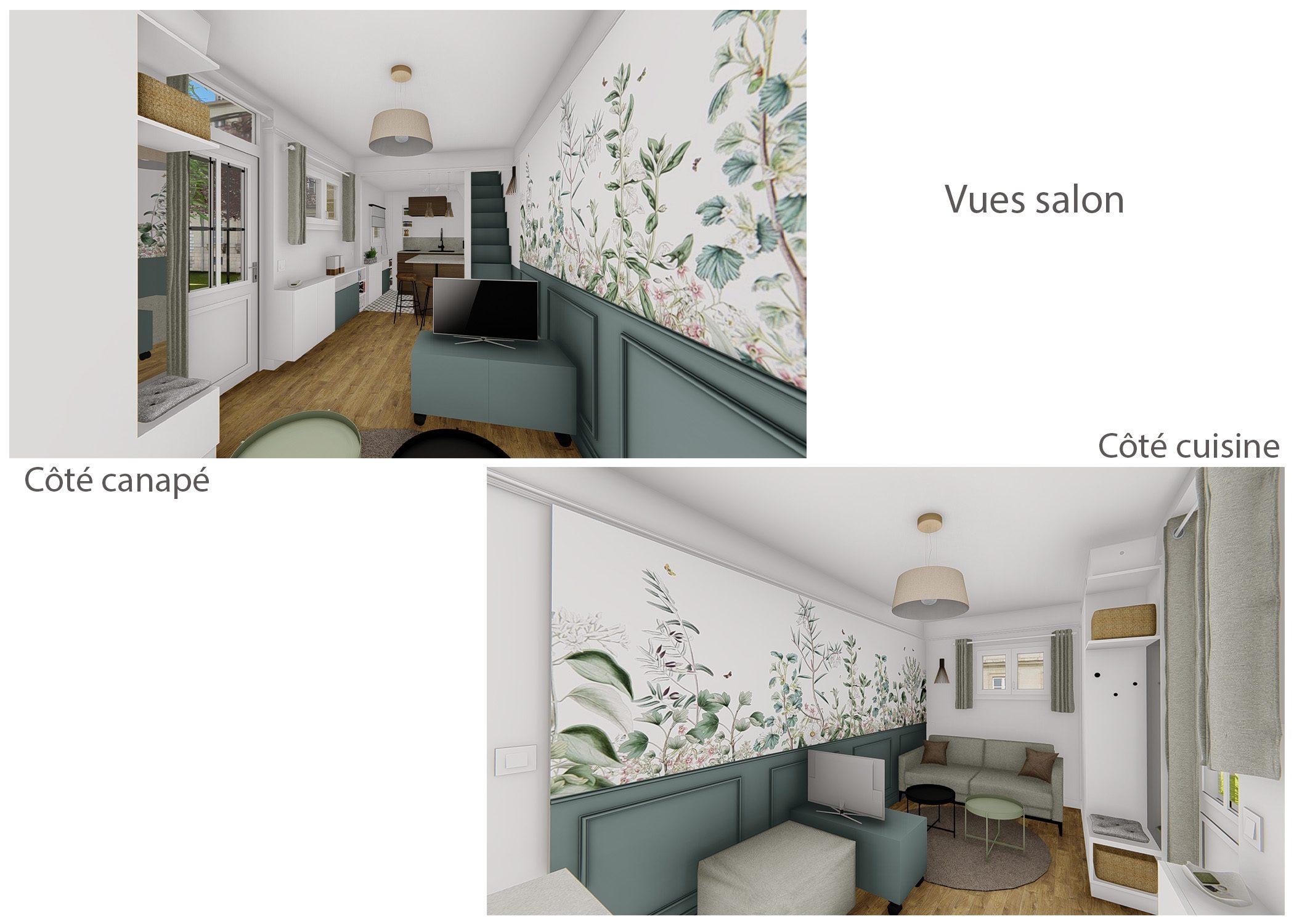 amenagement-decoration-maisonnette-paris-vues salon-dekho design
