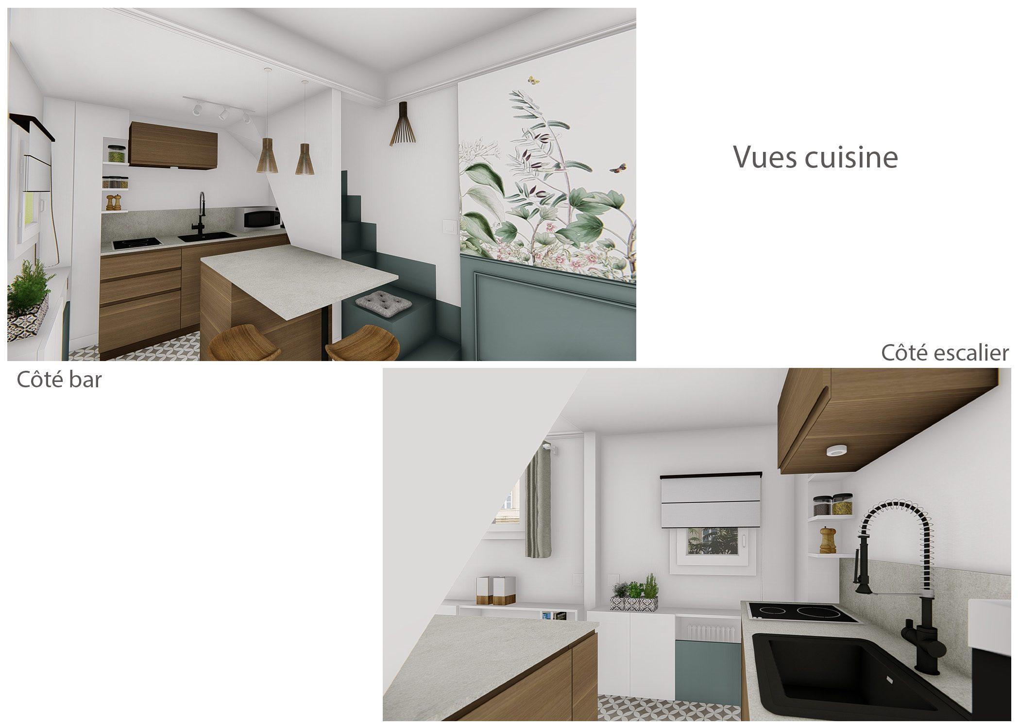 amenagement-decoration-maisonnette-paris-vues cuisine-dekho design