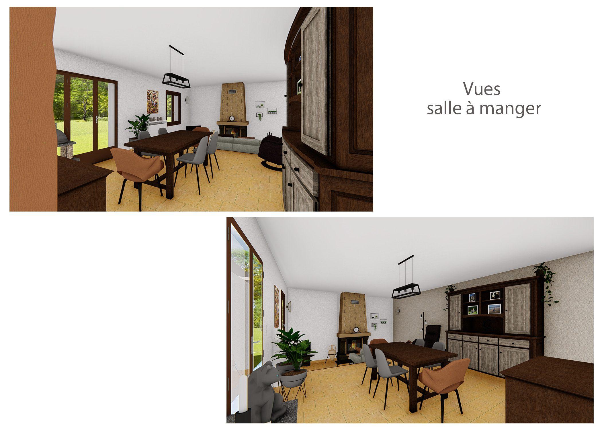 agencement-decoration-sejour fuveau-rendus salle a manger-dekho design