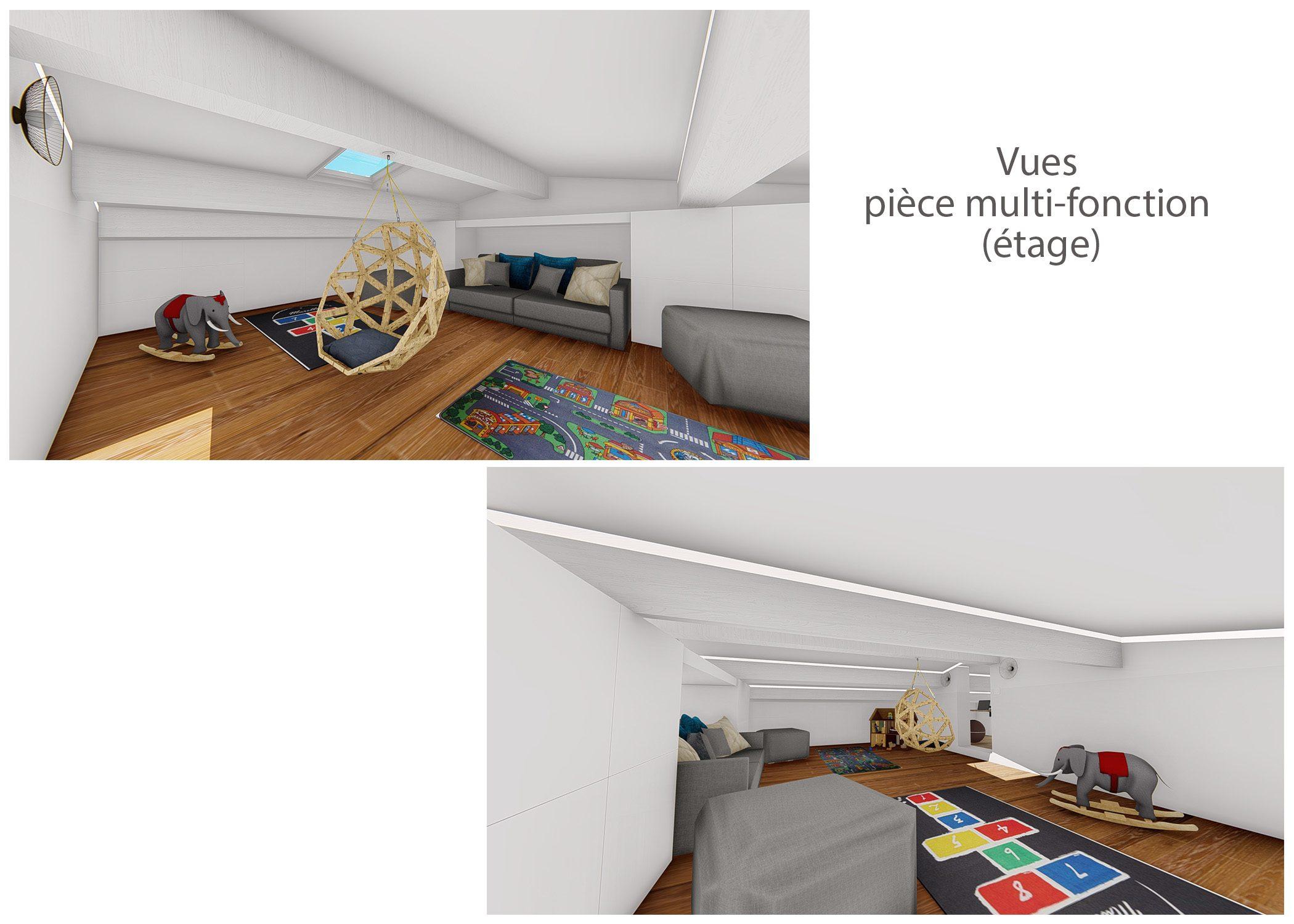renovation-amenagement-decoration-maison de famille-fuveau-rendus piece multi-fonction-dekho design